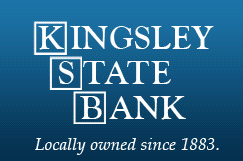 Kingsley State Bank logo