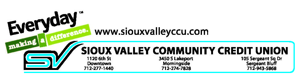 Sioux Valley Community Credit Union Logo